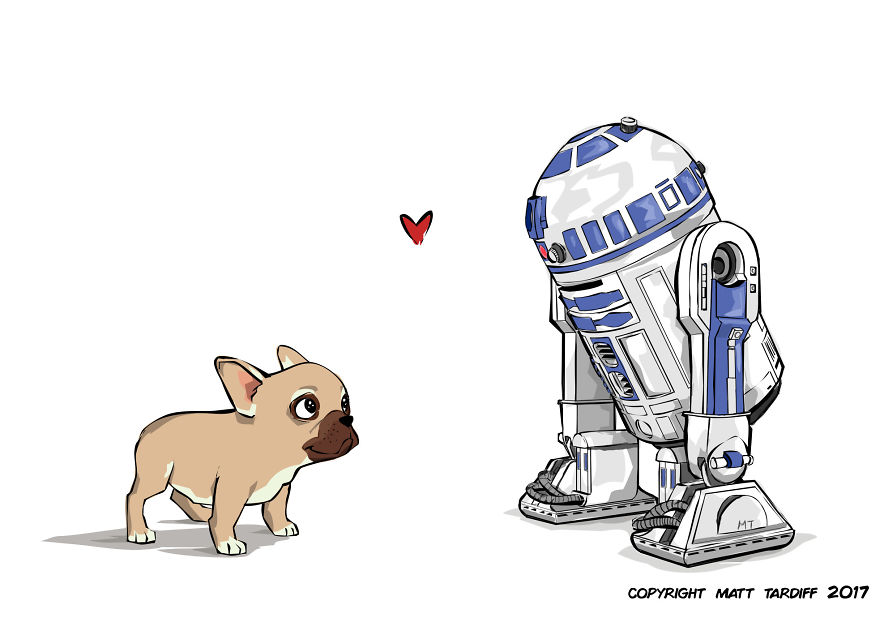 20 Heart Warming And Funny Dog Illustrations That Will Make Your Day For Sure