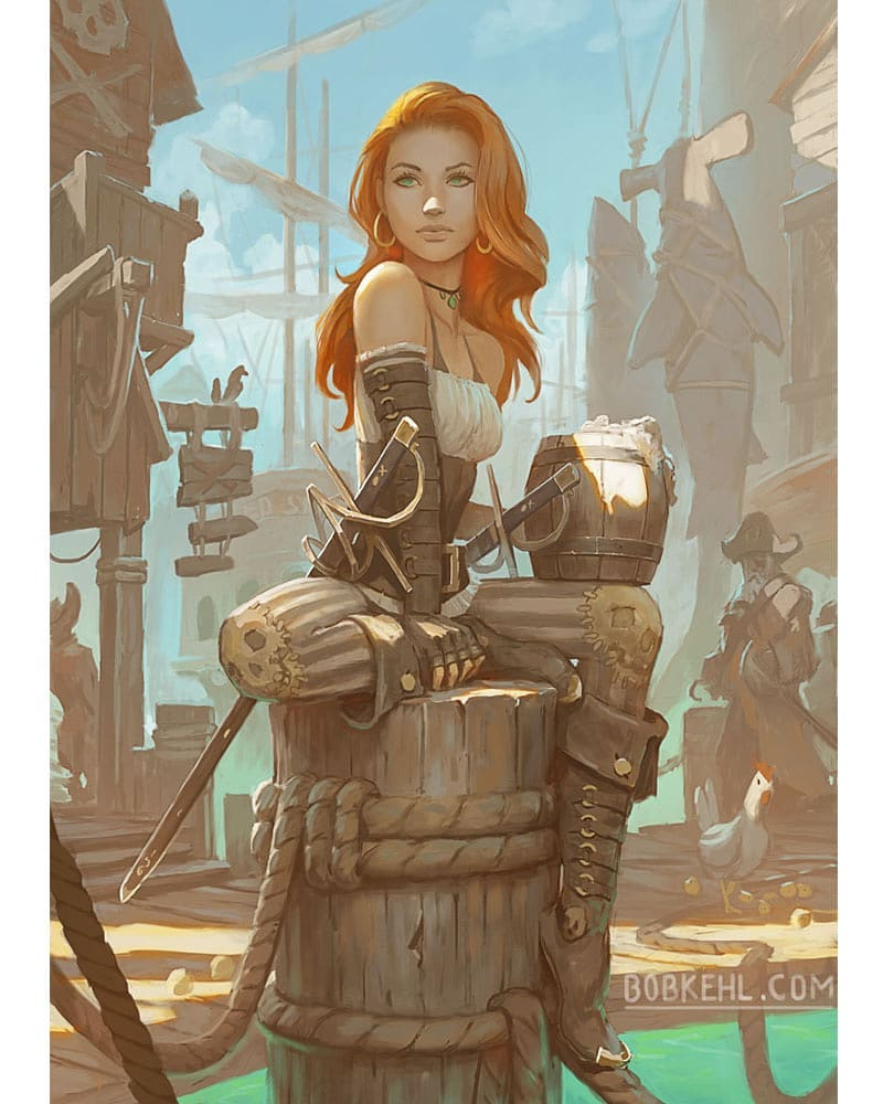 Artist Loves To Draw Anything That Is Fantasy (20 Pics)