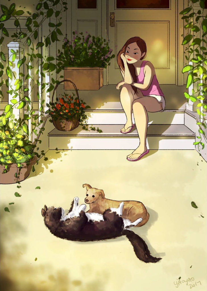 If you're still undecided about which pet to get, this artist's illustrations may help.