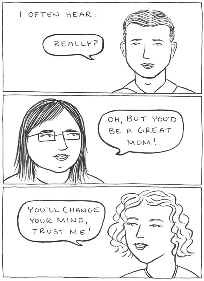 Not All Women Want Kids And This Artist Illustrates Why It's OK