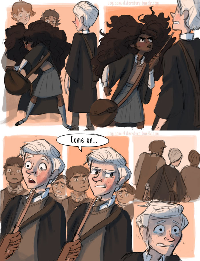 7 Incredible Harry Potter Scenes That Didn't Make It To The Big Screen Thanks to this illustrator, the storey has finally come to life.