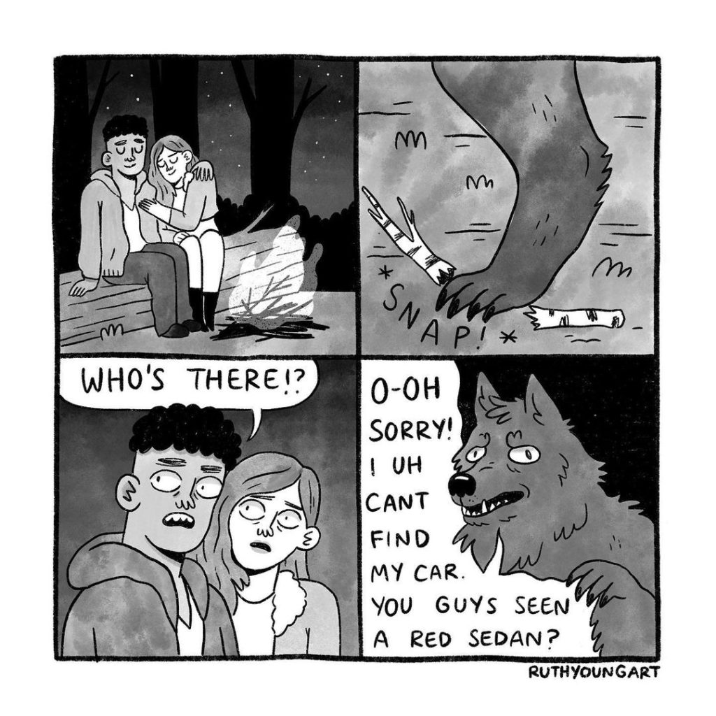Ruth Young's 20 Hilarious Comics With Sudden Twists